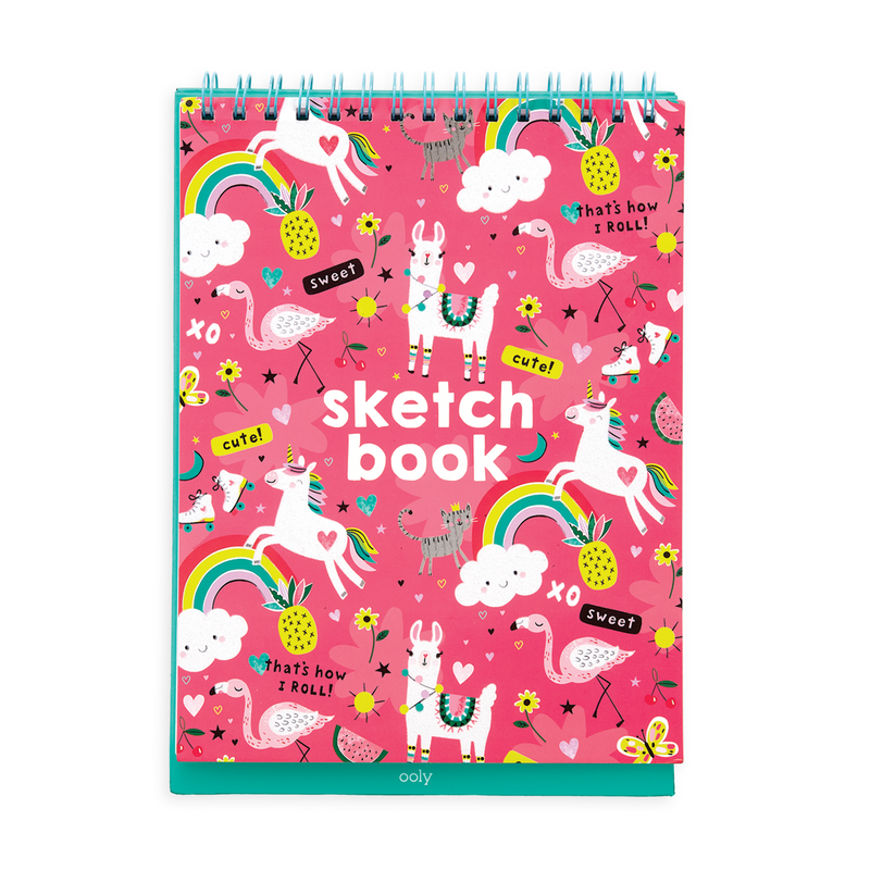 Funtastic Friend Sketch and Show Standing Sketchbook cover