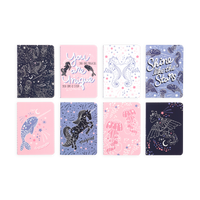 OOLY mini pocket journal Celestial showcasing all 8 journals