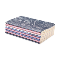 Celestial Stars Pocket Pal Journals stacked up