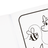 Perforated sheets in the Knights and Dragons Coloring Book