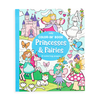 OOLY Princesses and Fairies Coloring Book front cover