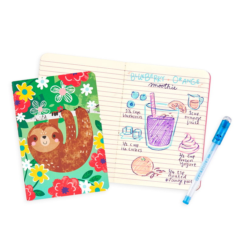 Funtastic Friends Pocket Pal Journals in use