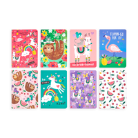 OOLY Funtastic Friends Pocket Pal Journals - Set of 8