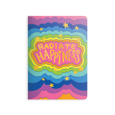 OOLY Jot-It Notebook 64 page - Radiate Happiness