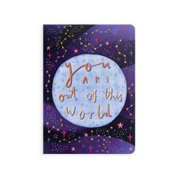 OOLY Jot-It Notebook 64 page - Out of this World