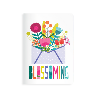 OOLY Jot-It Notebook 64 page - Blooming