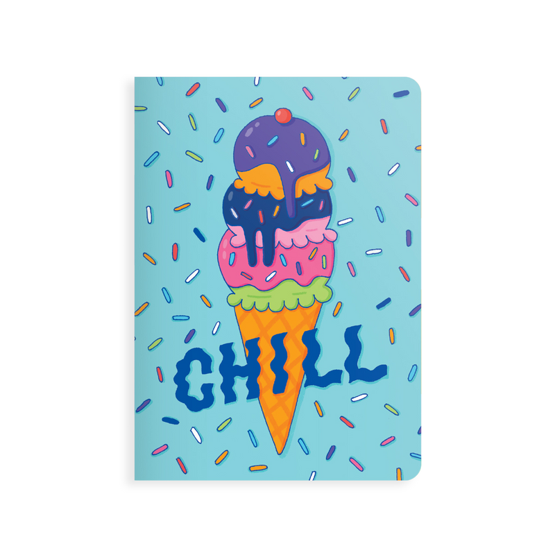 OOLY Jot-It Notebook 64 page - Chill