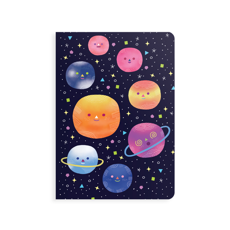 OOLY Jot-It Notebook 64 page - Planets
