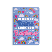 OOLY Jot-It Notebook 64 page - Look for Rainbows