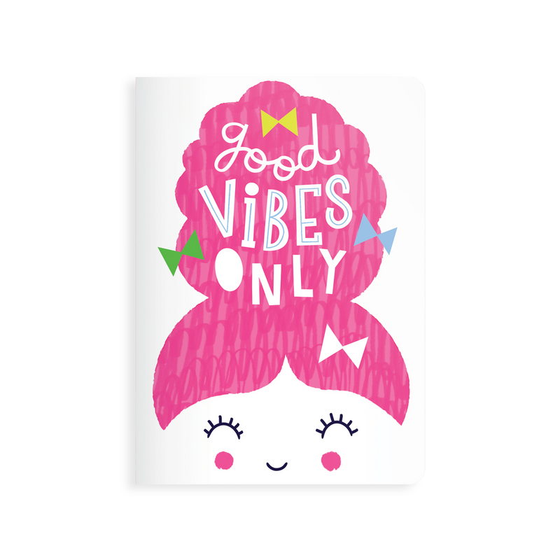 OOLY Jot-It Notebook 64 page - Good Vibes Only