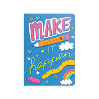 OOLY Jot-It Notebook 64 page - Make it Happen