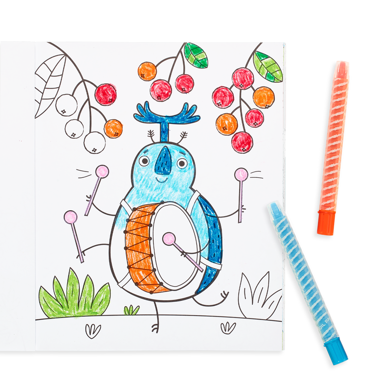 OOLY coloring book Busy bugs buddies pages