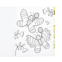 OOLY coloring book Busy bugs buddies page