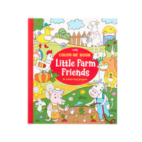 OOLY coloring book Little Farm Friends
