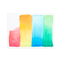 OOLY LIL Watercolor Paint Pad paper