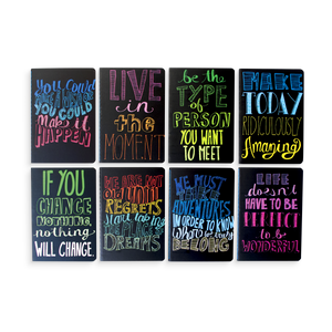 8 Pocket Pal Quotations pocket journals with inspirational quotes