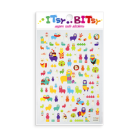 Itsy Bitsy - Alpaca Pals mini sticker sheet