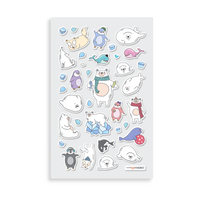 Itsy Bitsy - Arctic Antics Life mini sticker sheet