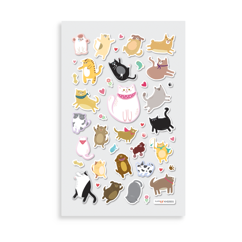 Itsy Bitsy Super Cute Stickers Puffy Pets Ooly