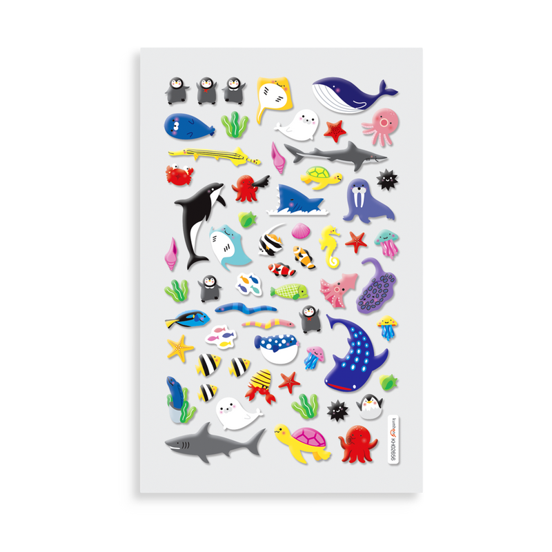Itsy Bitsy Super Cute Stickers Marine Friends Ooly