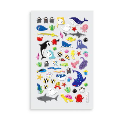 Itsy Bitsy - Marine Friends mini sticker sheet