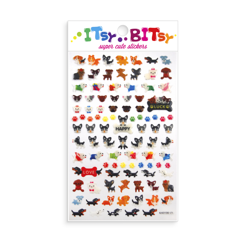 Itsy Bitsy - Pooches mini sticker sheet