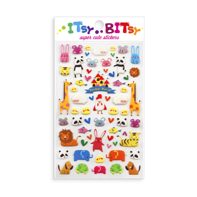 Itsy Bitsy - Animal World mini sticker sheet