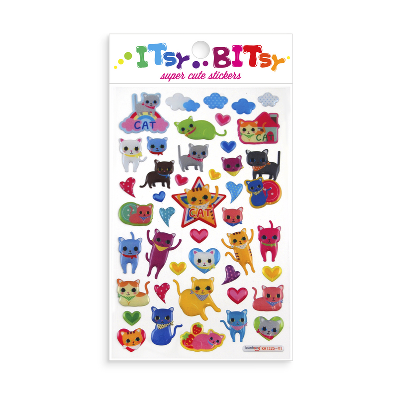 Itsy Bitsy - Cat Eyes mini sticker sheet