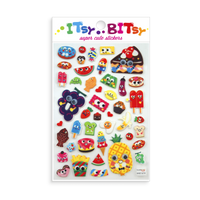 Itsy Bitsy - Googly Eyed Food mini sticker sheet