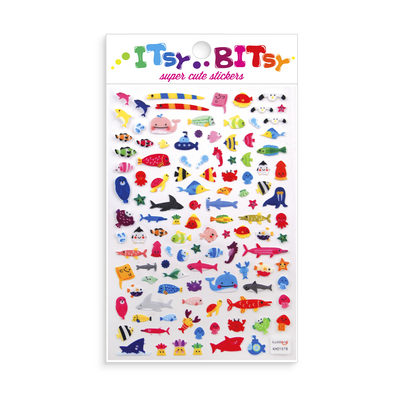 Itsy Bitsy - A Little Sea Life mini sticker sheet