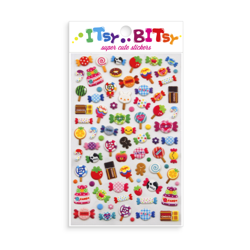 OOLY Itsy Bitsy Candy Time stickers