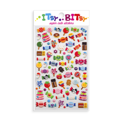Itsy Bitsy - Candy Time mini sticker sheet