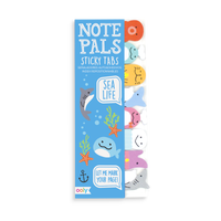 Sea Life Note Pals Sticky Tabs. Set of 120