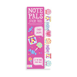 Note Pals Sticky Tabs for candy inspired notes and reminders