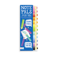 OOLY Note Pal Sticky tab colorful pencils