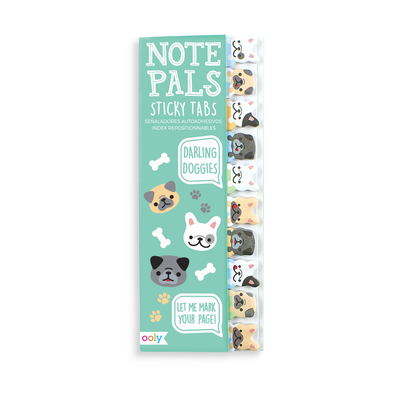 Note Pals Darling Dogs sticky notes