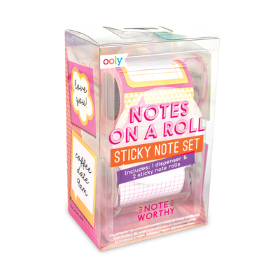 Notes On A Roll Sticky Note Set - Note Worthy