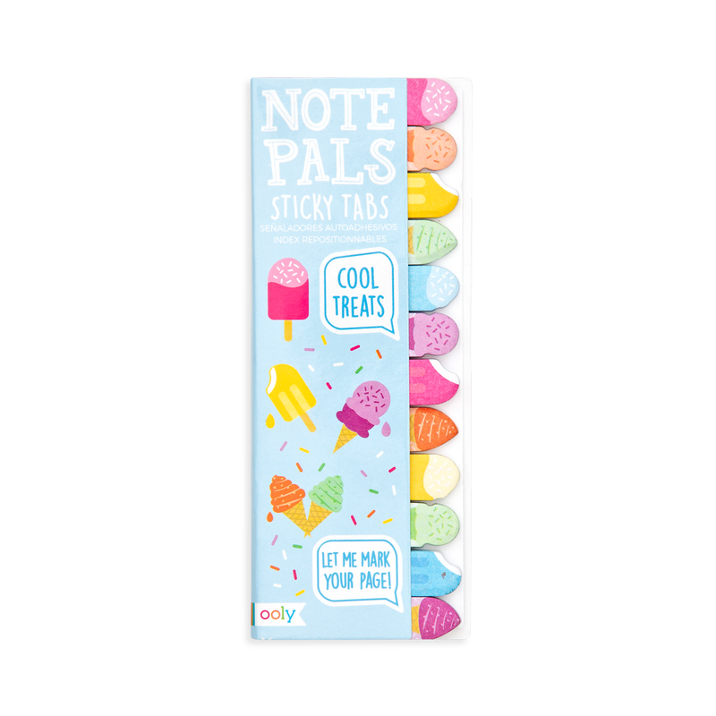 Note Pals Sticky Tabs - Cool Treats