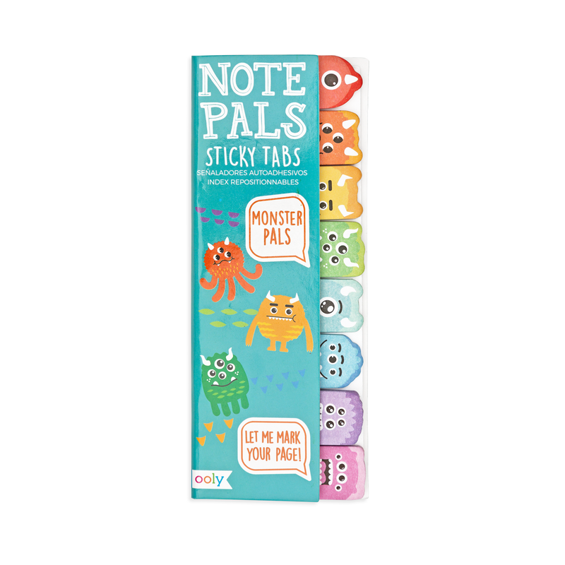 OOLY Note Pal Monster Sticky tabs packaging
