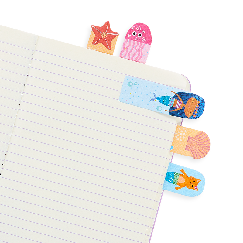 Notebook with Mermaid Magic Note Pals Sticky Notes