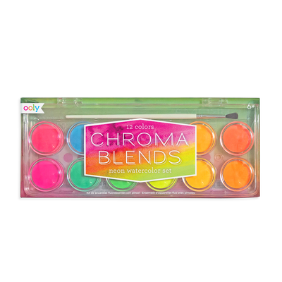 Chroma Blends Neon Watercolor Set