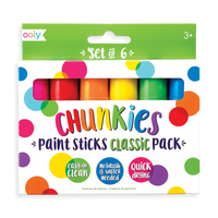Chunkies Paint Sticks - Classic Pack - Set of 6