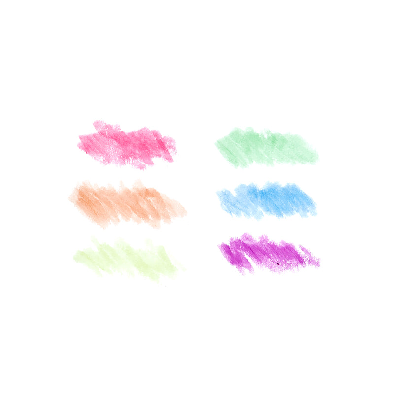 Color samples of Chunkies Paint Sticks Neon