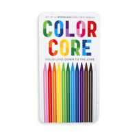 Color Core Colored Pencils are all lead and wood free pencils for long lasting coloring.