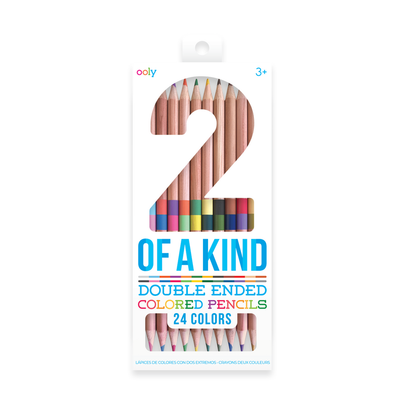 OOLY 2 of Kind Colored pencils in new packaging.