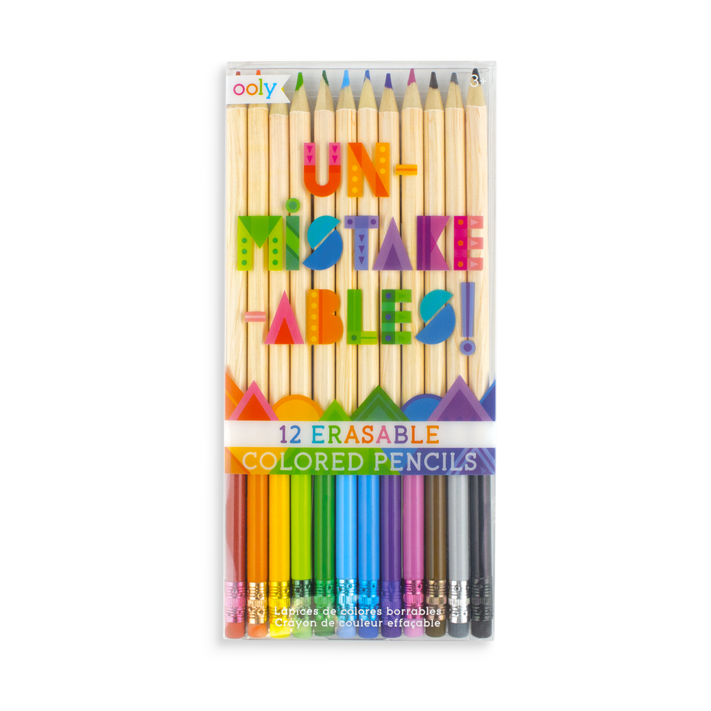 Unmistakeables Erasable Colored Pencils Ooly
