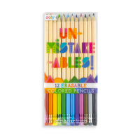 OOLY Unmistakable Erasable colored pencils