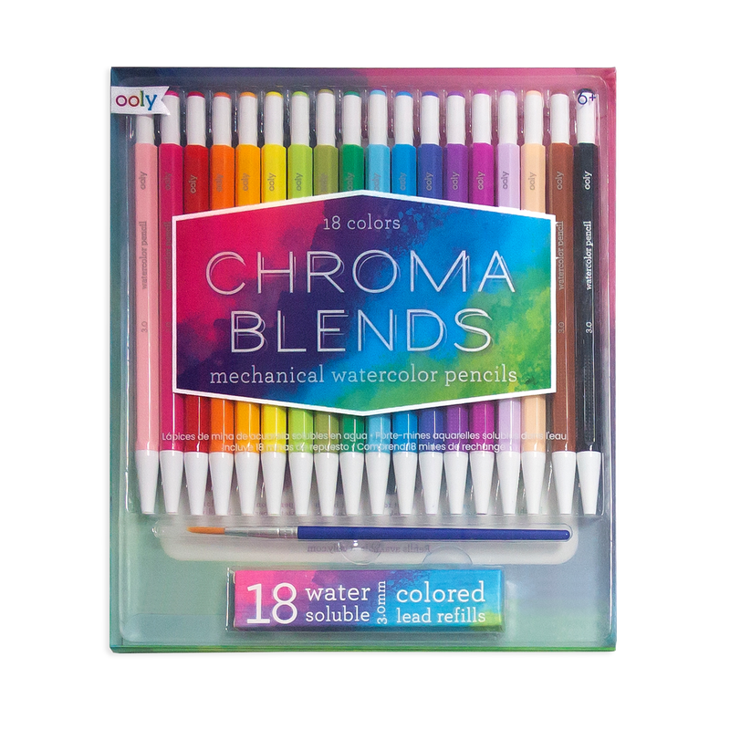 Chroma Blends Mechanical Watercolor Pencils in package