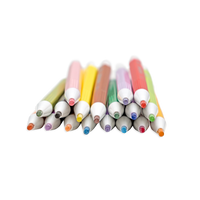 Some of theChroma Blends Mechanical Watercolor Pencils in a pile showing the tips