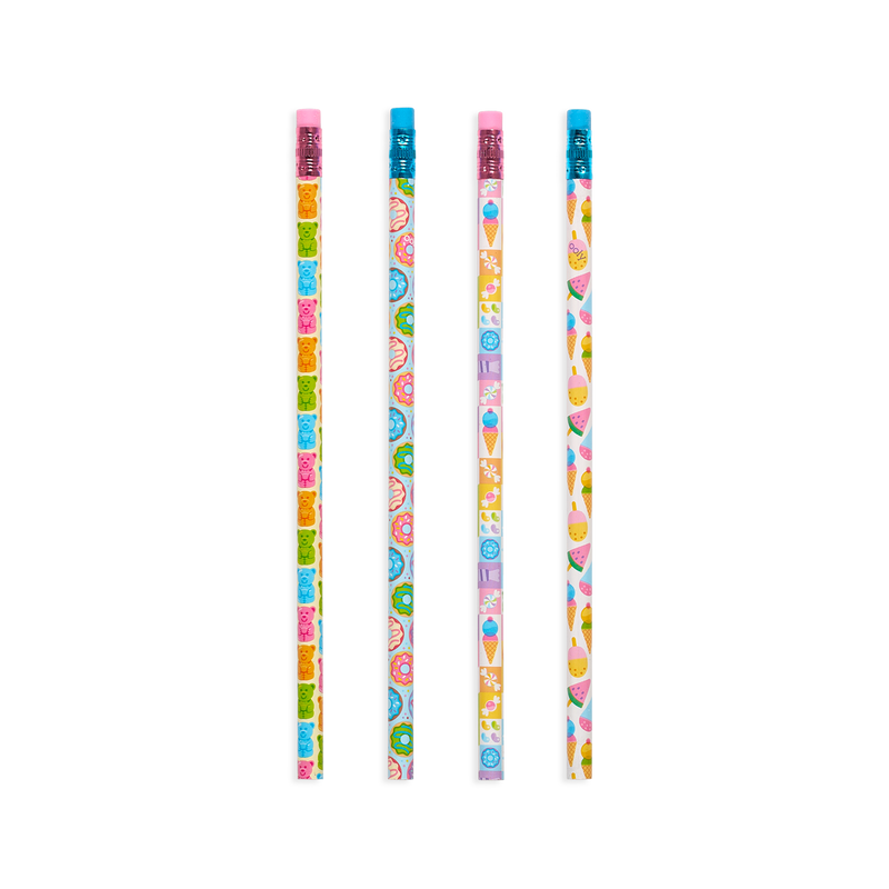 OOLY Sugar Joy graphite pencils 4 designs